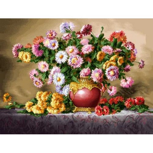 گلهاي داوودي
